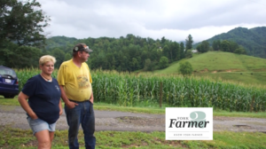 Cover photo for Fork to Farmer Films Feature Western NC Pivots